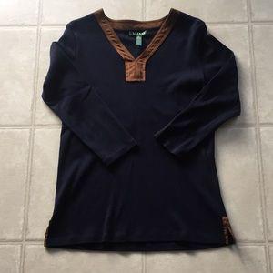LAUREN Ralph Lauren 3/4 Sleeve Top